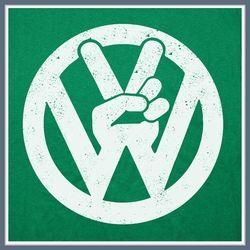 Volkswagen T Shirts | VW Tees | Bus Bug Peace Tee Shirt