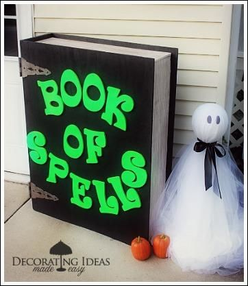1000 ideas about halloween yard decorations on pinterest for Make your own halloween decorations