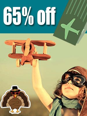 Travel on #Thanksgiving Day to Save up to 65% on Airline Tickets: https://www.ovlg.com/weekly-waterfall-tips?utm_source=s&utm_medium=pin&utm_term=tip46
