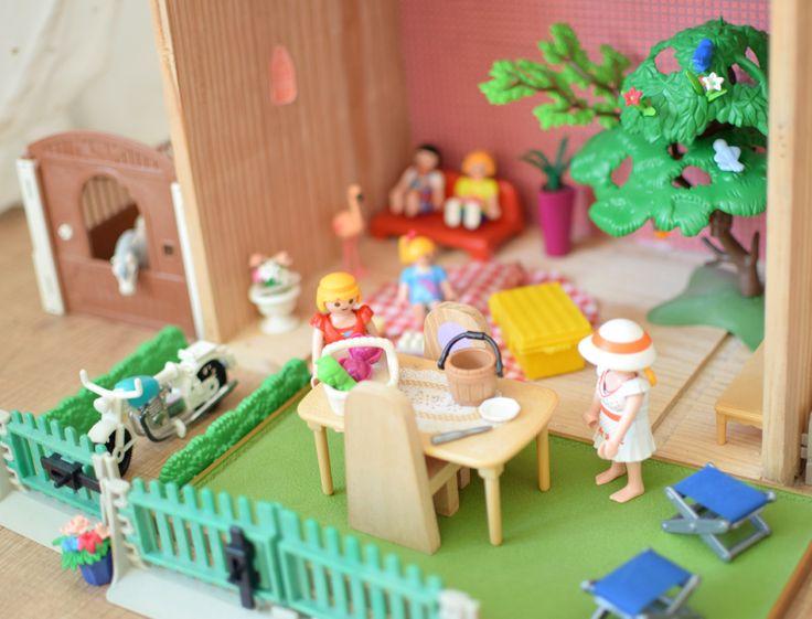 diy une maison pour playmobil louise pinterest bricolage maison diy et activit s pour. Black Bedroom Furniture Sets. Home Design Ideas