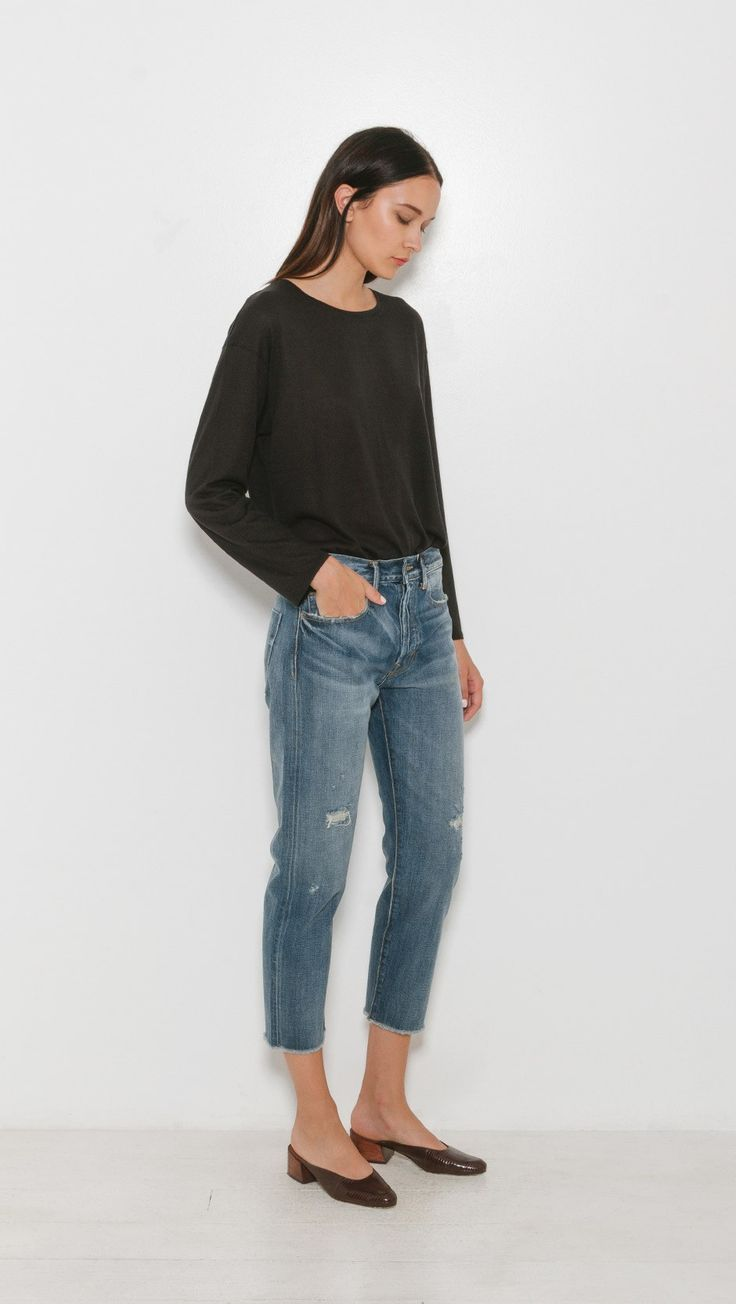 Vince Union Slouch Jeans in Craftsman   The Dreslyn