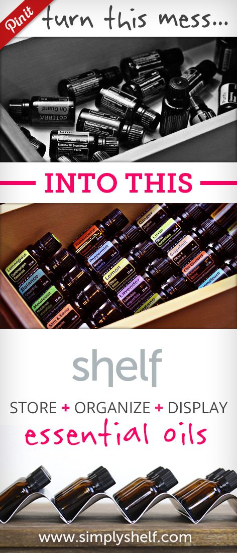 Store, Organize, and Display your essential oils like a pro.  Shelf Essential Oil Storage Racks. Grab them today and GET $5.00 OFF your order!  Use promo code: PINLOVE