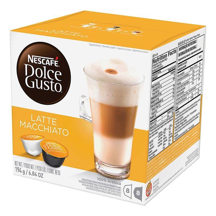 Nescafe Dolce Gusto Latte Macchiato Coffee SingleServe