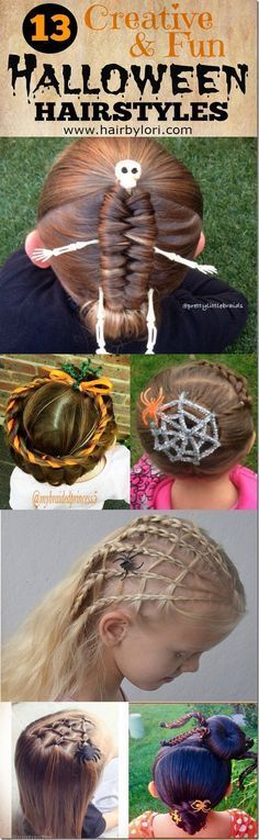 13 Creative Halloween Hairstyles