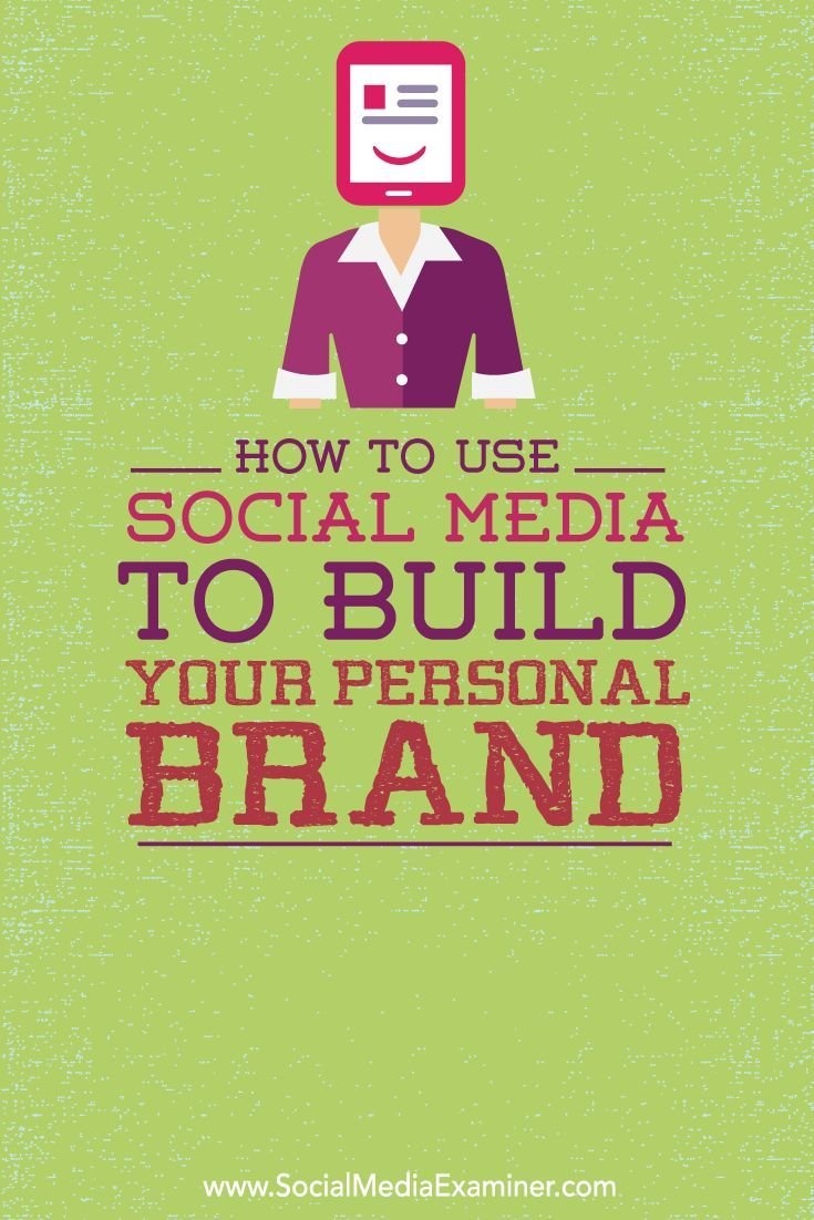 Do you want to build a personal brand?  In this article you'll discover how to use social media to build your personal brand.
