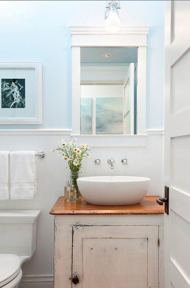 Painting Bathroom Cabinets Distressed White 159 best bathroom vanity images on pinterest | bathroom ideas