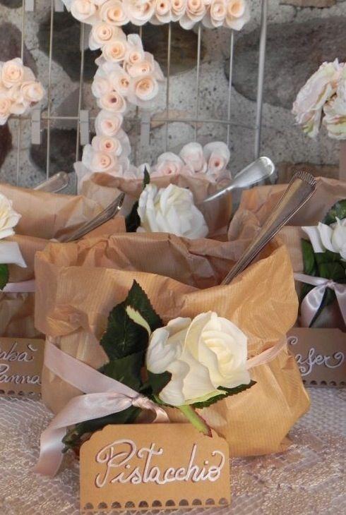 I sacchetti per la confettata rustici - Mi sposo e non mi svenoMi sposo e non mi sveno