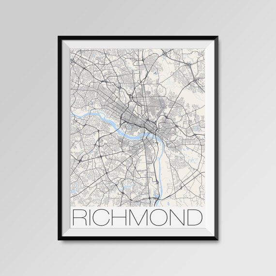 The Best Richmond Map Ideas On Pinterest - Map of us cities with richmond