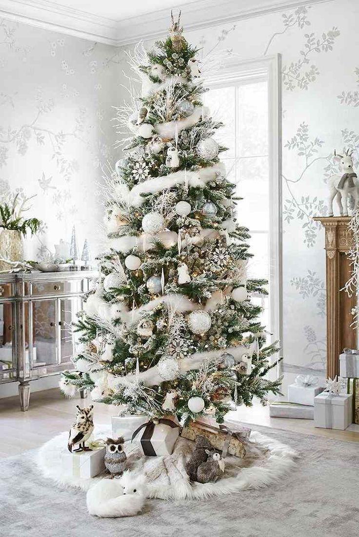Déco sapin blanc – nos idées pour un arbre de Noël réussi