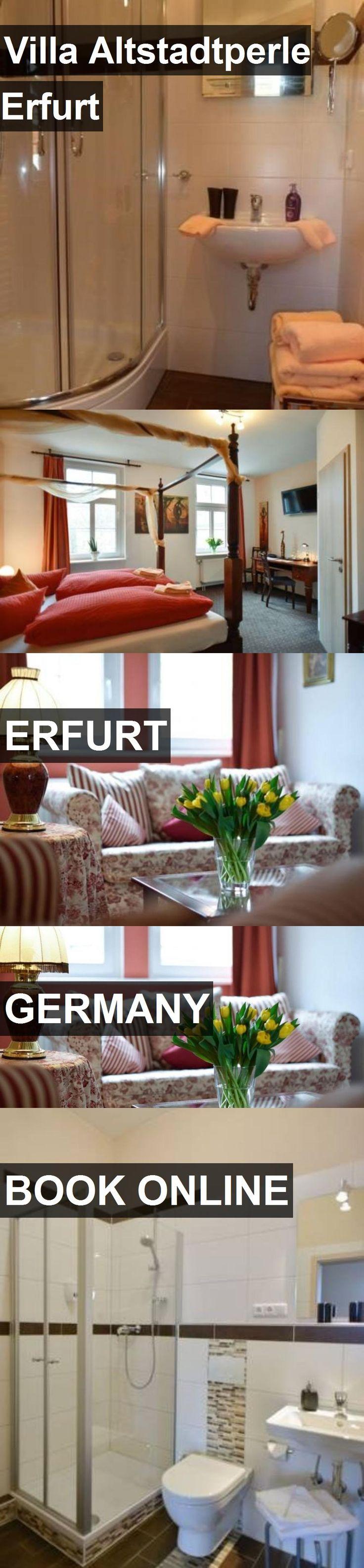Hotel Villa Altstadtperle Erfurt in Erfurt, Germany. For more information, photos, reviews and best prices please follow the link. #Germany #Erfurt #VillaAltstadtperleErfurt #hotel #travel #vacation