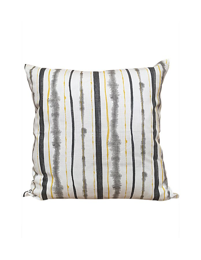 Cushion Yellow Grey Cecile And Boyd With Images Cushions