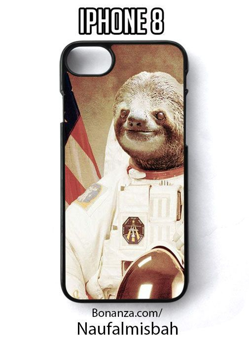 Sloth Astronaut iPhone 8 Case Cover - Cases, Covers & Skins