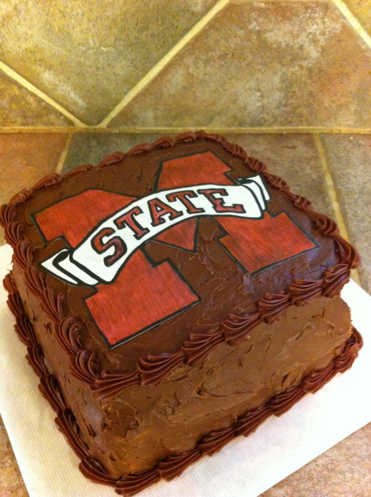 Mississippi State Grooms Cake Cakes And Crafts