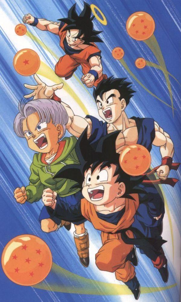 Dragon Ball Z: trunks is soooooo adorable