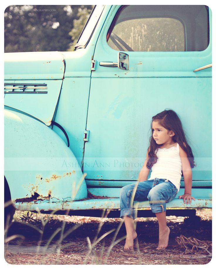 Photo by Ashlyn Ann Photography    I've been driving by this old abandoned truck for years...and finally found the perfect person to create the image I had envisioned for so long!    ashlynannphotography.com