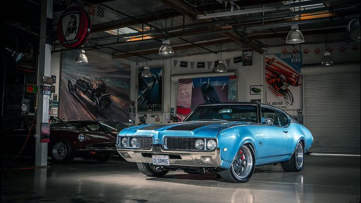 1969 Oldsmobile 442 in Jay Leno's Garage - Luxury Muscle Car