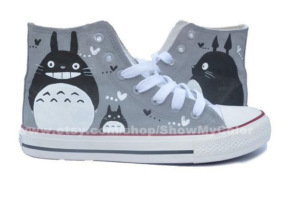 My Neighbor Totoro anime Custom Canvas Totoro hand by ShowMyColor