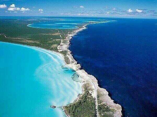 Place where the Caribbean meets the Atlantic-definitely going someday.