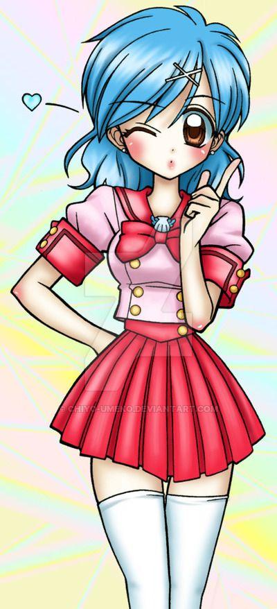Anime/Manga-Mermaid Melody Pichi Pichi Pitch Mangaka- Michiko Yokote (story) Pink Hanamori (art) Character-Lucia Nanami (Luchia) & Kaito Domoto New Ver. 01/03/2013
