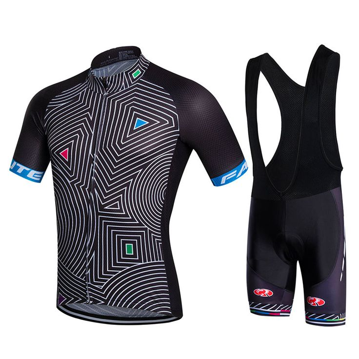2016 Brand Fastcute Cycling Sets Breathable Cycling Jerseys Quick-Dry Cycling Clothing Bib Shorts GEL Pad #16198226