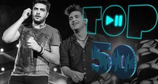 top 50 musicas sertaneja smais tocadas agosto