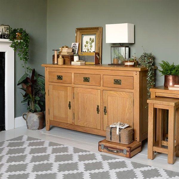 Product Photo 1 Rustic Oak Furniture Furniture Large Sideboard