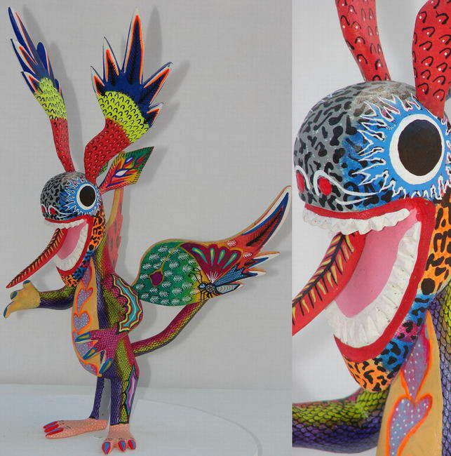 5300 best images about alebrijes from oaxaca on pinterest for Oaxaca mexico arts and crafts