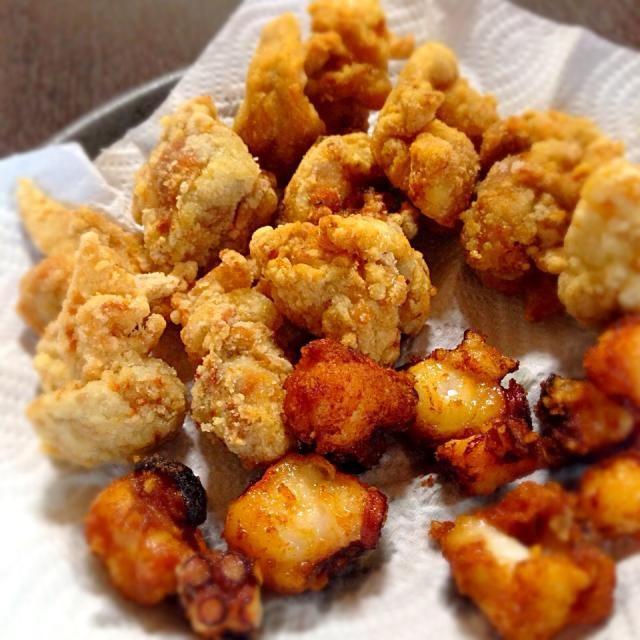 入園のお祝いに、好きなものを♡ - 13件のもぐもぐ - 鶏とたこの唐揚げ by ykmama