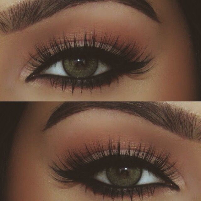 look at those stunning lashes!