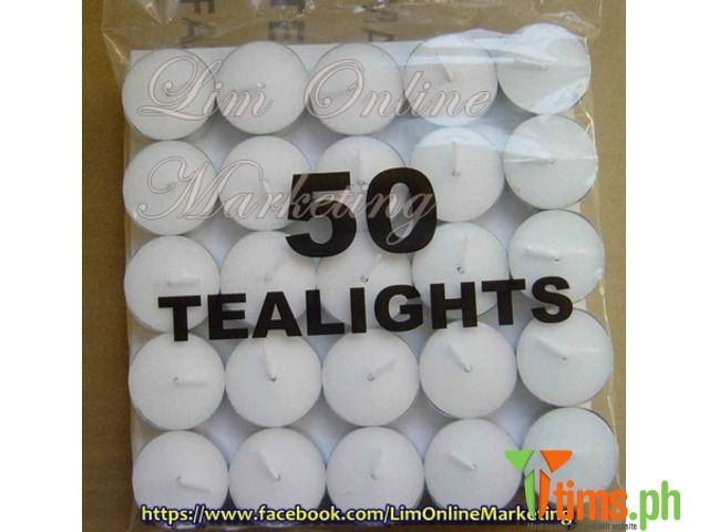 Events u0026 Party Supply - Item: Real Tea Light Candle (sold per pack of