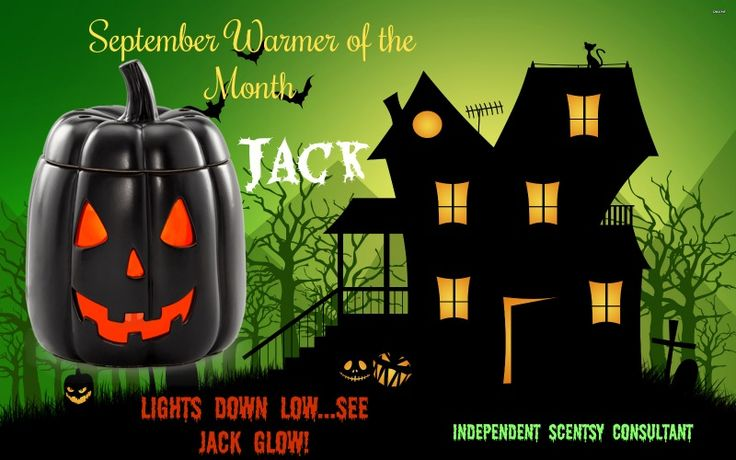 Lights Down Low, See Jack Glow! With his sinister smile and glowing eyes, how can you not LOVE Jack! Get him this month!! https://melissahoffman.scentsy.us