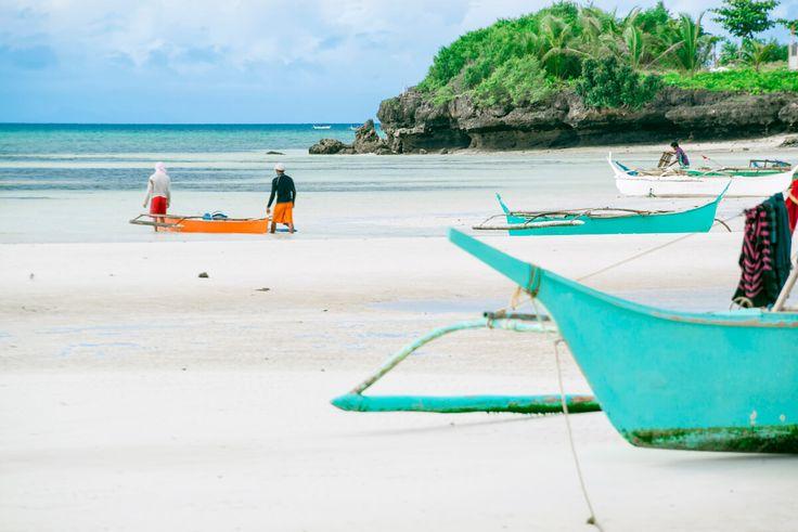 Rybolov patrí ku každodennej práci na ostrove Bantayan