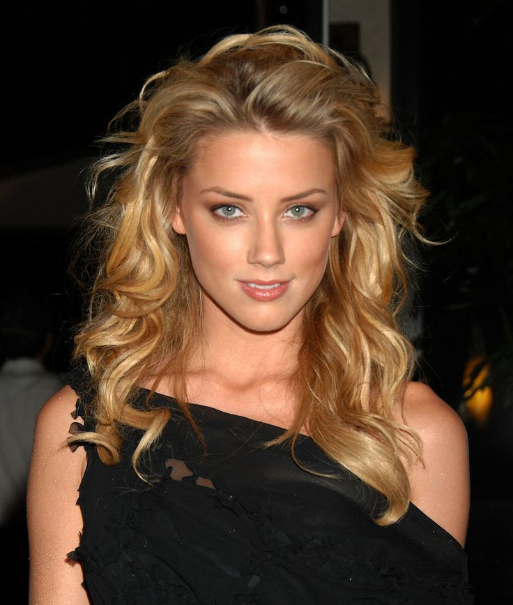 The shiny Amber Heard ...... She starred in Friday Night Lights as Maria