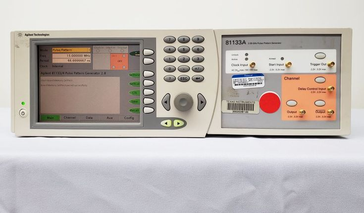 Agilent 81133 A Pulse Pattern Generator 3 35ghz Available For