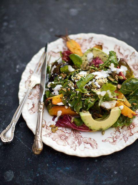 carrot & avo salad 2   Food   Pinterest   Avocado salads ...