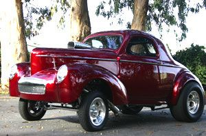 Hot Ruby..Willys gasser appreciated by Motorheads Performance www.musclecarssanantonio.com