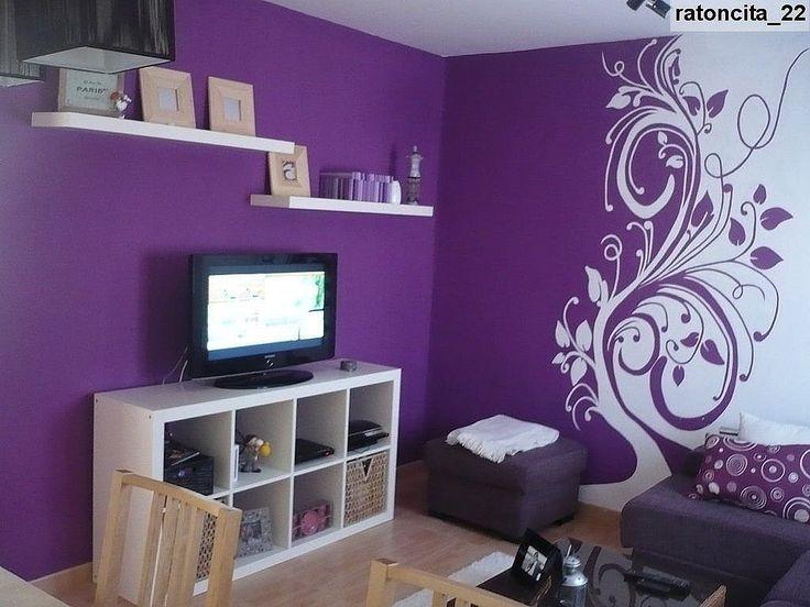 dormitorios de color violeta  inspiración de diseño de ...