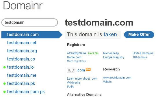 domainname1 15 Tools For Selecting An Ideal Domain Name  Wsyyukiwanie domen
