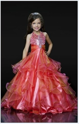 Girl Kids Pageant Dress Bridesmaid Dance Party Princess Ball Gown Formal Dresses   eBay