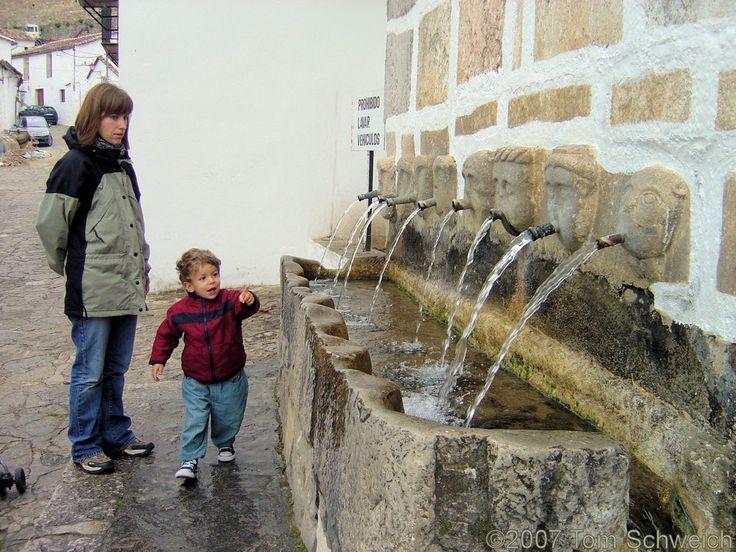 Roman Fountain, Grazalema, Cadiz, Andalucia, Spain