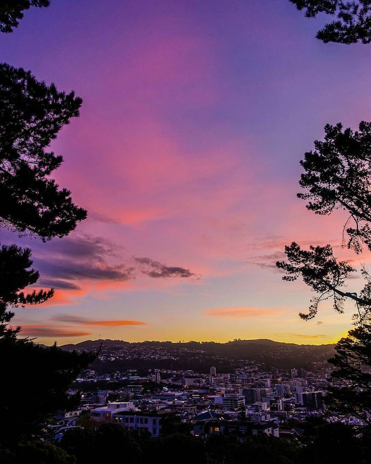 Last Saturday was a pretty good sunset in #Wellington, so I thought I would post…