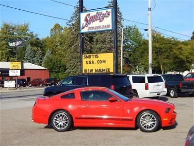 eBay: 2014 Ford Mustang V6 Premium 2014 Ford Mustang V6 Premium Automatic Coupe Clean Carfax Low Mile Alloy Wheels! #fordmustang #ford