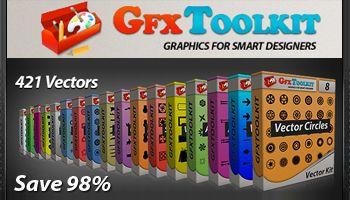 Vector Mega Pack #1 - Gfxtoolkit.com - Save 98%