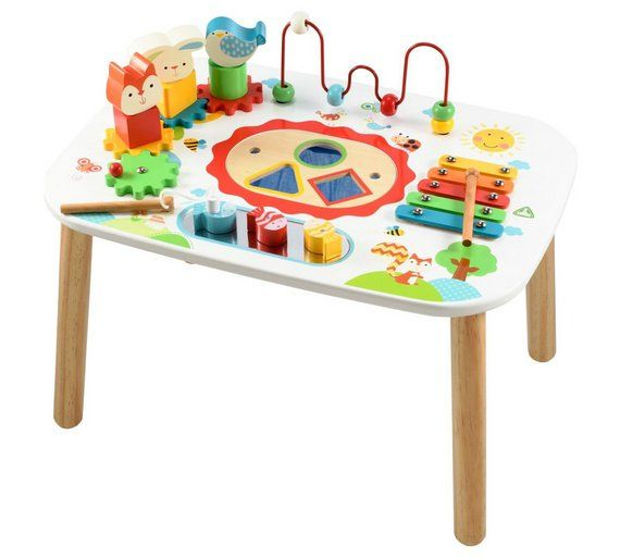 Buy ELC Wooden Activity Table At Argos.co.uk, Visit Argos.co