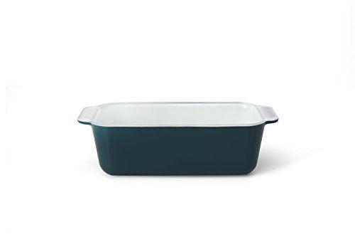 Creo SmartGlass Loaf Pan, 8.5-Inch, Mediterranean Blue Creo
