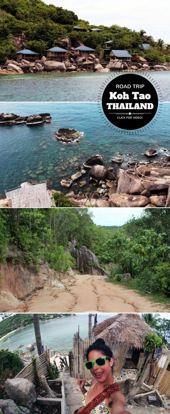 A Day in #KohTao #Thailand: ROAD TRIP VIDEO