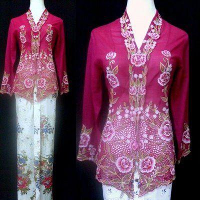 Kebaya Pattern - The Sewing Forum
