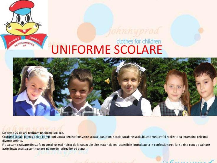 uniforme-scolare-24781882 by Hainute copii Johnny Prodcomimpex via Slideshare