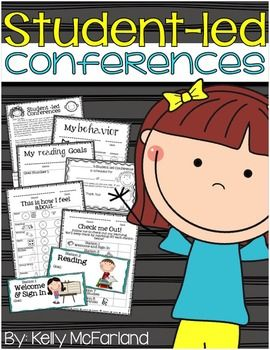 Student-led Conference Materials: All you need to set up and run student-led conferences in the primary classroom.