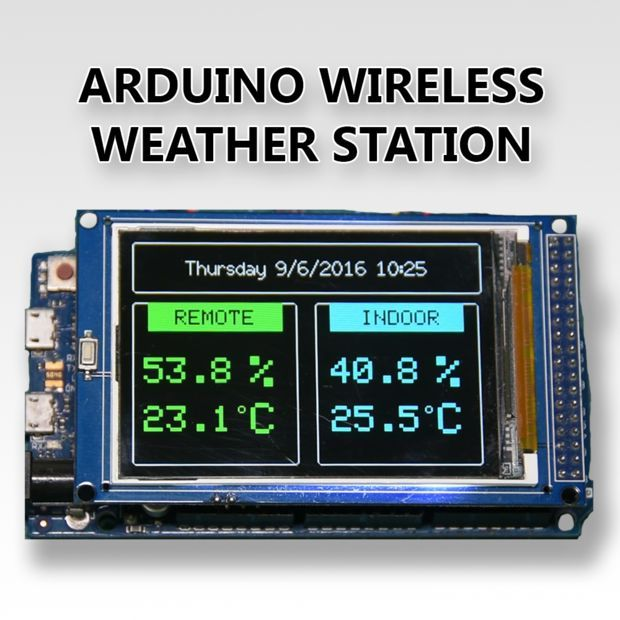 Picture of Arduino Wireless Weather Station                                                                                                                                                      Más